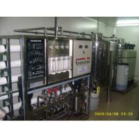 China Electroplating Double Pass RO Water Filter Plant , 10 T/H RO Water Treatment Plant on sale
