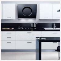 Wholesale Modern Kitchen Range Hood with Black Silk Screen Tempred Glass from china suppliers
