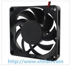 70*70*15mm 12V/24V DC Black Plastic Brushless Cooling Fan DC7015 for Air Cleaner