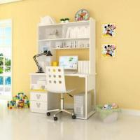 Wholesale E0 Grade Kids'/Children's Furniture, Computer Desk with Hutch, Printed Animation Figures from china suppliers