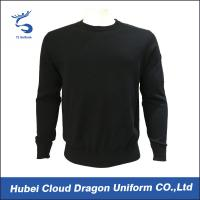 Buy cheap Custom Long Sleeve Security Guard Shirts / Duty Security Guard Sweater 55%Acrylic 45%Cotton from Wholesalers
