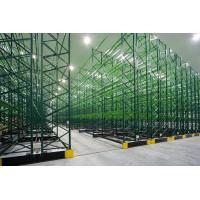 Wholesale Q235B Steel Warehouse Pallet Storage Racks  Movable  ,  Warehouse Storage Racking Metal Shelving from china suppliers