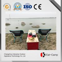 Wholesale Double Gas Stoves Outdoor Kitchen Prep Station For Hiking Trips / RV Camping from china suppliers