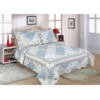 """Disperse Printed Home Bed Quilts Durable With 1"""" Distance Quilting Crafts"""