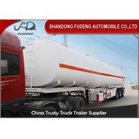 China 36000 L double tire fuel tank truck trailer for sale BPW brand axle on sale