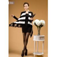 China summer newwaistcoat black and white strip outwear on sale