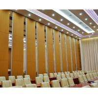 China Fireproof Movable Sound Proofing Conference Room Dividers Melamine Board on sale