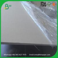 China BMPAPER factroy supply  1mm 2mm 3mm 4mm  Grey Board for Box Binding Covers on sale