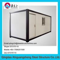 China EPS sandwich panel roof and steel frame container living house for dormitory on sale
