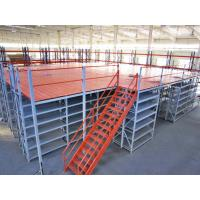 Wholesale Customized Cold Rolled Structural Rack Supported Mezzanine For Logistics from china suppliers