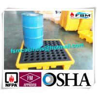 Wholesale Highly Visible IBC Spill Containment Pallet HDPE For Chemical Oil Tank from china suppliers