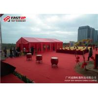 Multi Functional Red Color Wedding Event Tents Marriage Tent 3 - 60 Meter Width