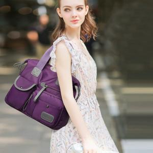 Wholesale Fashion Purple Nylon Stylish Crossbody Bags For Travel from china suppliers