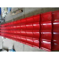 China Corrosion Resistance Colour Coated Metal Roofing Sheets Organic Coating Thickness 20-45μM on sale