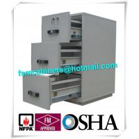 Wholesale Steel 3 Drawer Fireproof Locking File Cabinet For Paper Documents from china suppliers