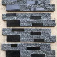 Wholesale Natural stone , Natural Black Granite Wall Stone Cladding Ledge Stone from china suppliers