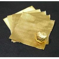 Wholesale Candy / Chocolate Aluminum Foil Wrappers For Food Packaging 0.012mm Thickness from china suppliers