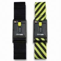 Wholesale Black/Yellow Luggage Straps/Belts, Available in Various Types, OEM Order are Welcome from china suppliers