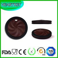 Wholesale Factory Supply Baby Teething Cookie Soft Silicone Baby Cookie Teethers from china suppliers