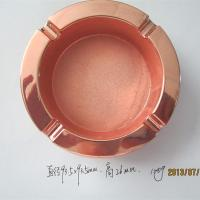 Corporate branded metal ash tray, premium zinc alloy ashtray for branding promotion,