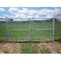 China Multifunctional Galvanized Metal Chain Link Fence With Posts / Installing Accessories on sale