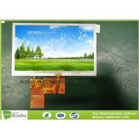 Wholesale High Brightness 40 Pin TFT Touch Screen LCD Display Resistive Panel 480 * 272 Resolution With RTP from china suppliers