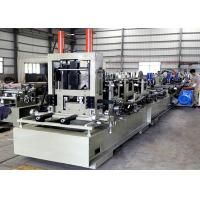 Wholesale High Speed CZ Purlin Roll Forming Machine  , Steel Channel Profile Roll Former from china suppliers