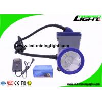 Wholesale 6.6Ah Rechargeable Safety Mining Cap Lamp with Cable Li-Ion Battery Over-discharging Over-Charging Electrical Protection from china suppliers