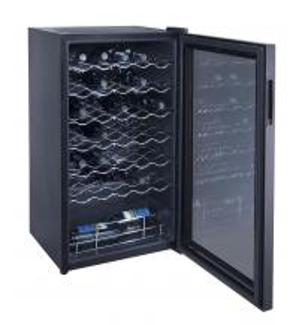 34 Bottles 98L Wine Cooler Single Zone (compressor Wine Cellar)