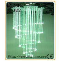 Wholesale Meeting Room spiral optical fiber crystal Chandelier, drop chandelier crystal (OFC-12) from china suppliers