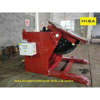 China Heavy Duty Pipe Welding Positioners , Rotary Welding Table 15 Ton Capacity 5.5KW on sale