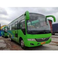 China Left Side Drive Green Second Hand Tourist Bus 35 Seat Diesel Euro IV 8045mm Length on sale