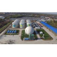 Wholesale 33000 Nm3 / D Home Biogas Digester Double Enamel Coating Customized Color from china suppliers