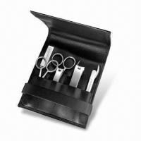 Wholesale Stainless Steel Manicure Set, Includes Accessories as per Customer's Request, OEM Orders are Welcome from china suppliers