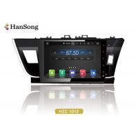 Wholesale Android Car Video Player For Toyota Corolla 2014 , Toyota Dvd Navigation System from china suppliers