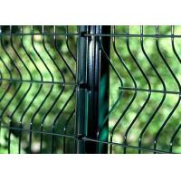 Wholesale PVC Coated Welded Wire Mesh Panels For Area Protection , Eco Friendly from china suppliers