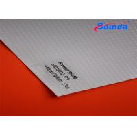 China High Tensile Strength Plastic Sign Material , Solvent Printable Matte Custom Sign Banner on sale