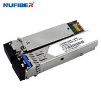 Wholesale 80km 1.25G CWDM SFP Module Transceiver 1270nm-1610nm Duplex LC SM from china suppliers