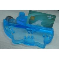 Buy cheap Eco friendly PVC Coin Tray Blue Durable Coin Tray , Durable Money Tray from wholesalers