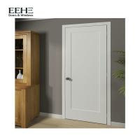 Quality Contemperary Flush Solid Hardwood Internal Doors With Handle Brand Hardware for sale