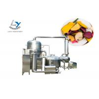 China Vacuum Automatic Chips Making Machine For Vegetable / Fruit High Efficiency on sale