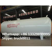 Buy cheap hot sale ASME standard 20 metric tons surface lpg gas storage tank,  factory sale best price lpg gas storage tank from Wholesalers