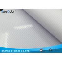 China Glossy Solvent Frontlit PVC Flex Banner Material Canvas For Outdoor Light Boxes on sale