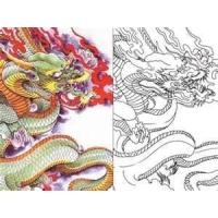 Wholesale OEM hot sale new Dragon tattoo coloring book for tattooist with High quality from china suppliers