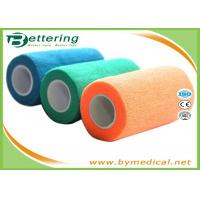 "Wholesale 4"" Self Adhesive Coflex Bandage Wrap Easy Hand Tearing Non Woven Material from china suppliers"