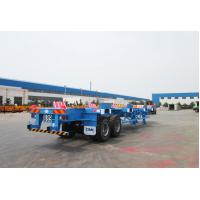 Wholesale Commercial Small Flatbed Trailer 35 Tons Port Yard Chassis For Container Transporting from china suppliers