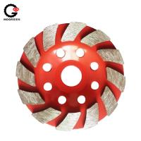 China Diameter 6 inch Hilti Diamond Grinding Cup Wheel For Concrete Terrazzo Stone on sale