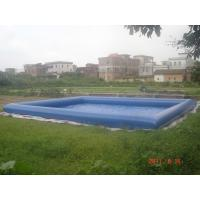 Buy cheap Giant Inflatable Water Pool With CE Air Pump For Rental Business from wholesalers