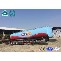 Wholesale Carbon Steel Tri - Axle Semi Trailer For Fuel Transport 30000 To 60000 Liters from china suppliers