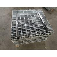 China Forge Welded Steel Bar Grating Common Banded Ends Subway Grating Clamp on sale